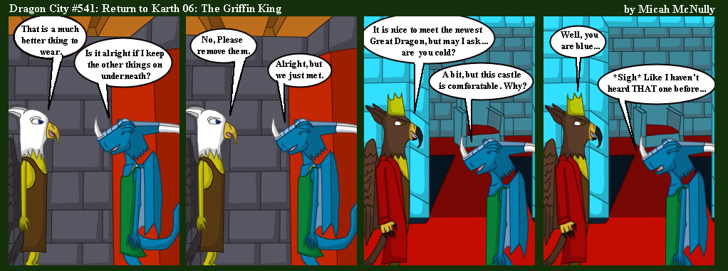 541. Return to Karth 06: The Griffin King