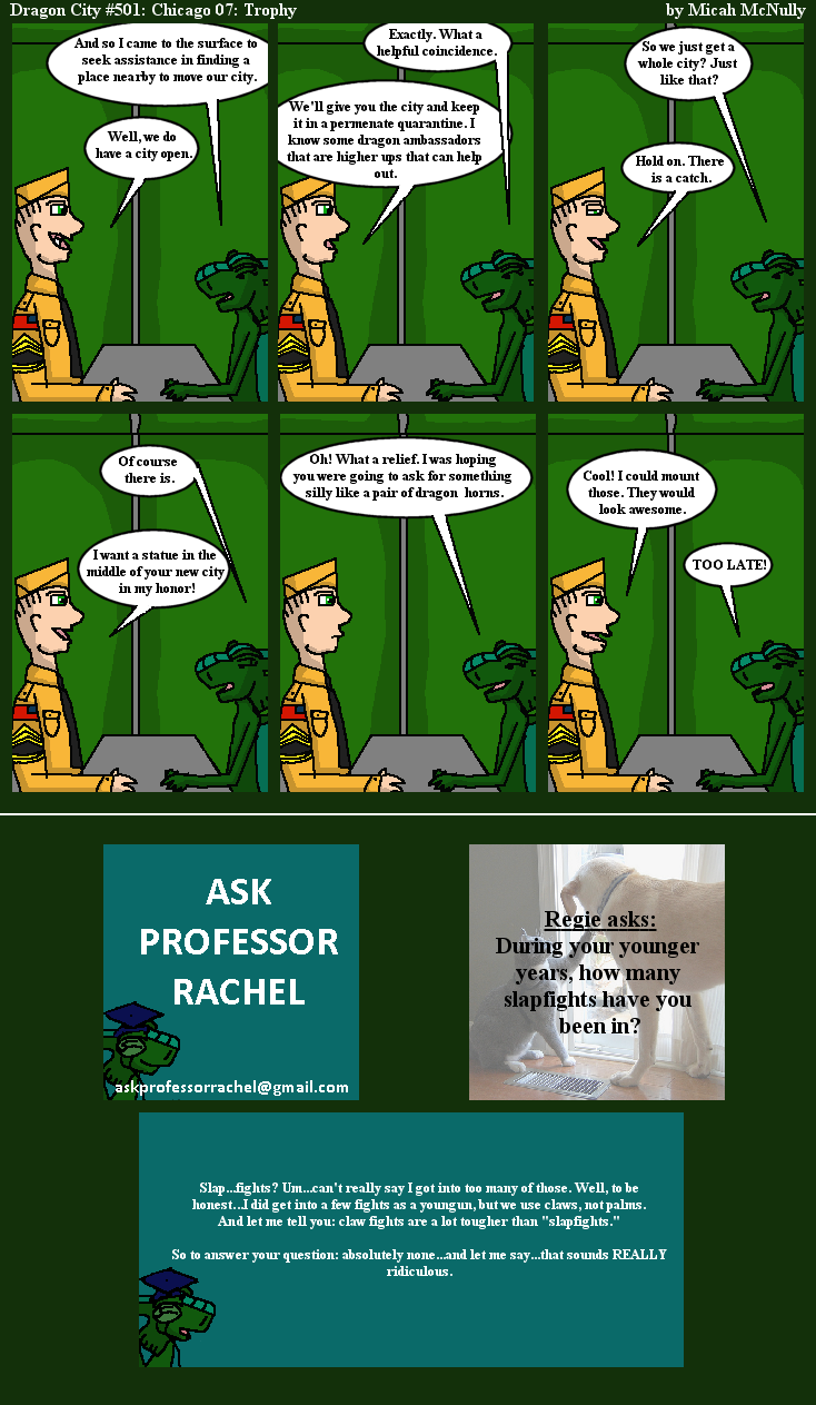 501. Chicago 07: Trophy (With Ask Professor Rachel 104)