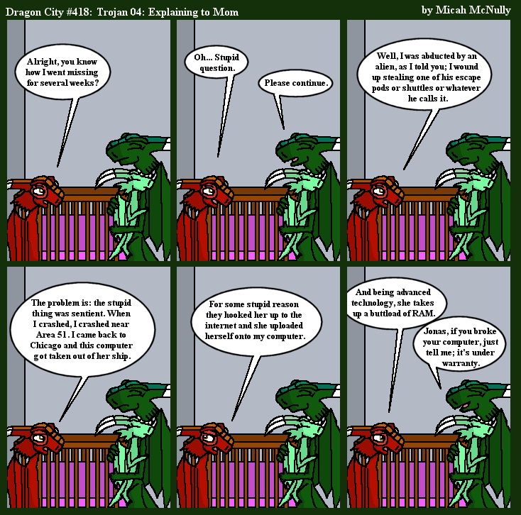 418. Trojan 04: Explaining to Mom