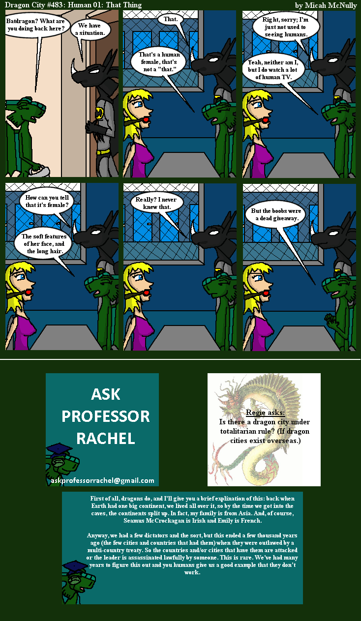 483. Human 01: That Thing (With Ask Professor Rachel 98)