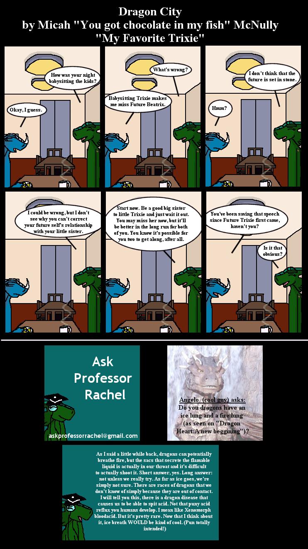 240. My favorite Trixie (With Ask Professor Rachel 18)