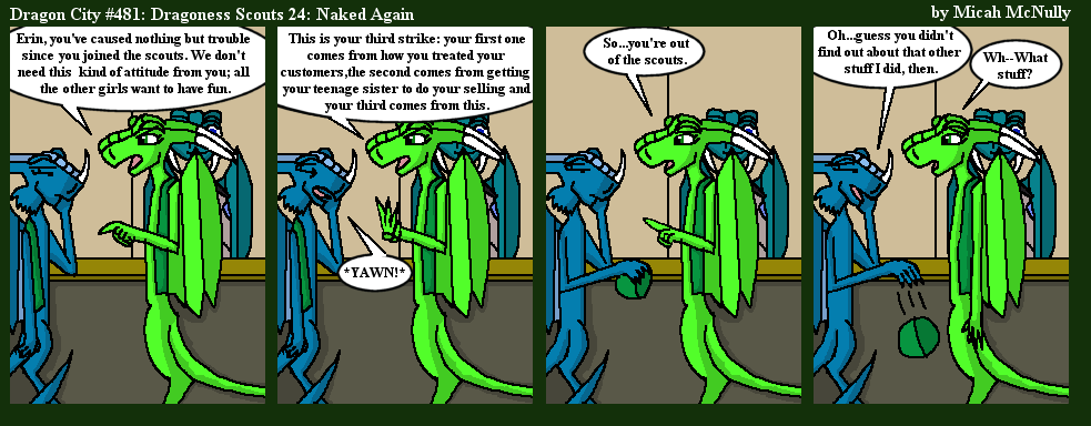 481. Dragoness Scouts 24: Naked Again