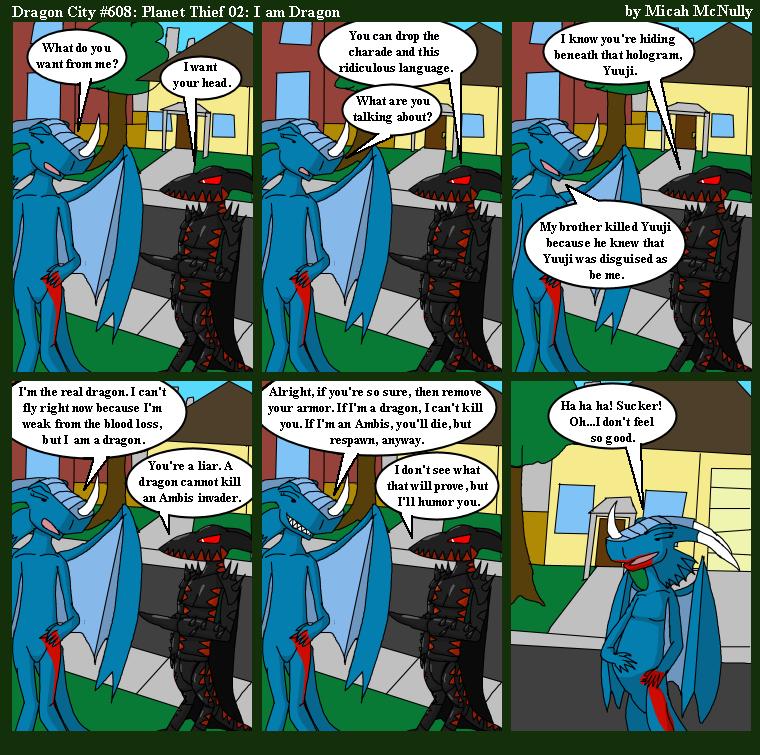 608. Planet Thief 02: I am Dragon
