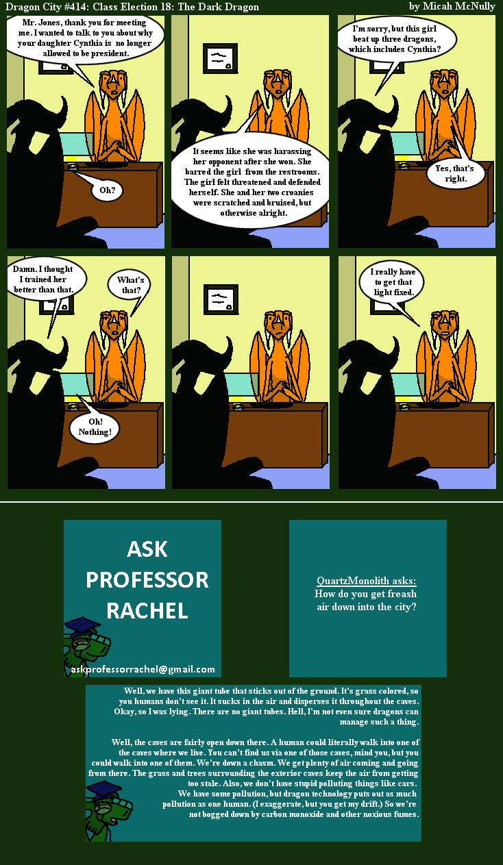 414. Class Election 18: The Dark Dragon (With Ask Professor Rachel 75)
