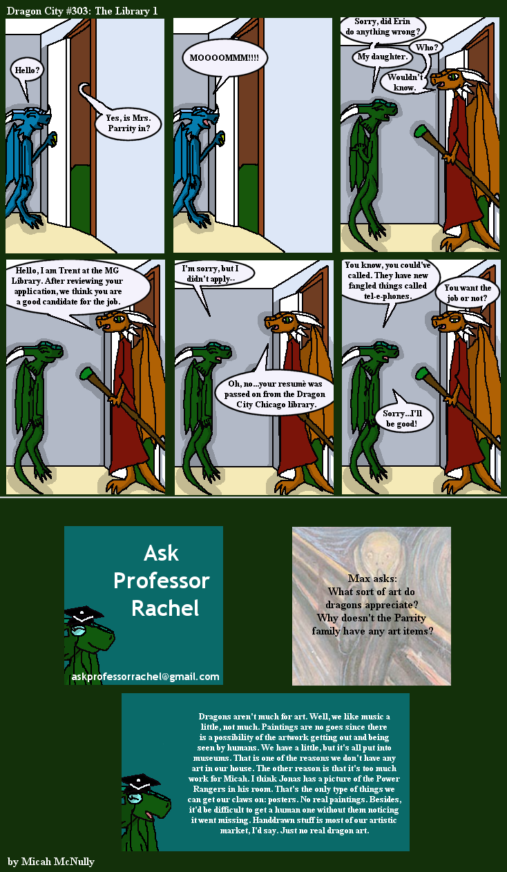 303. The Library 1 (With Ask Professor Rachel 38)