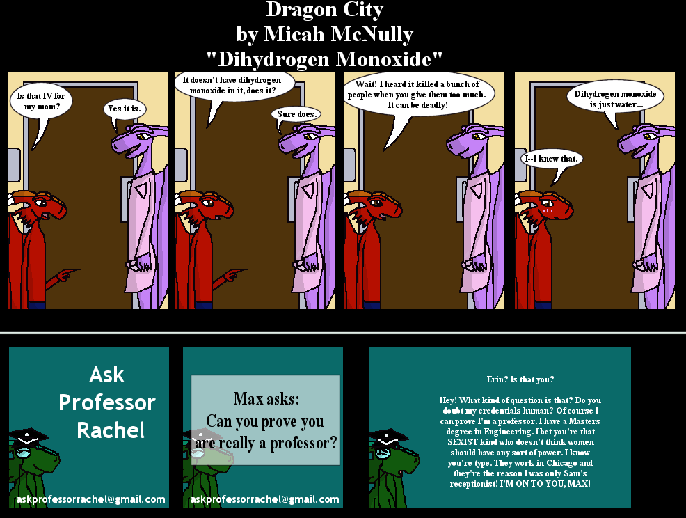 216. Dihydrogen Monoxide (With Ask Professor Rachel 10)