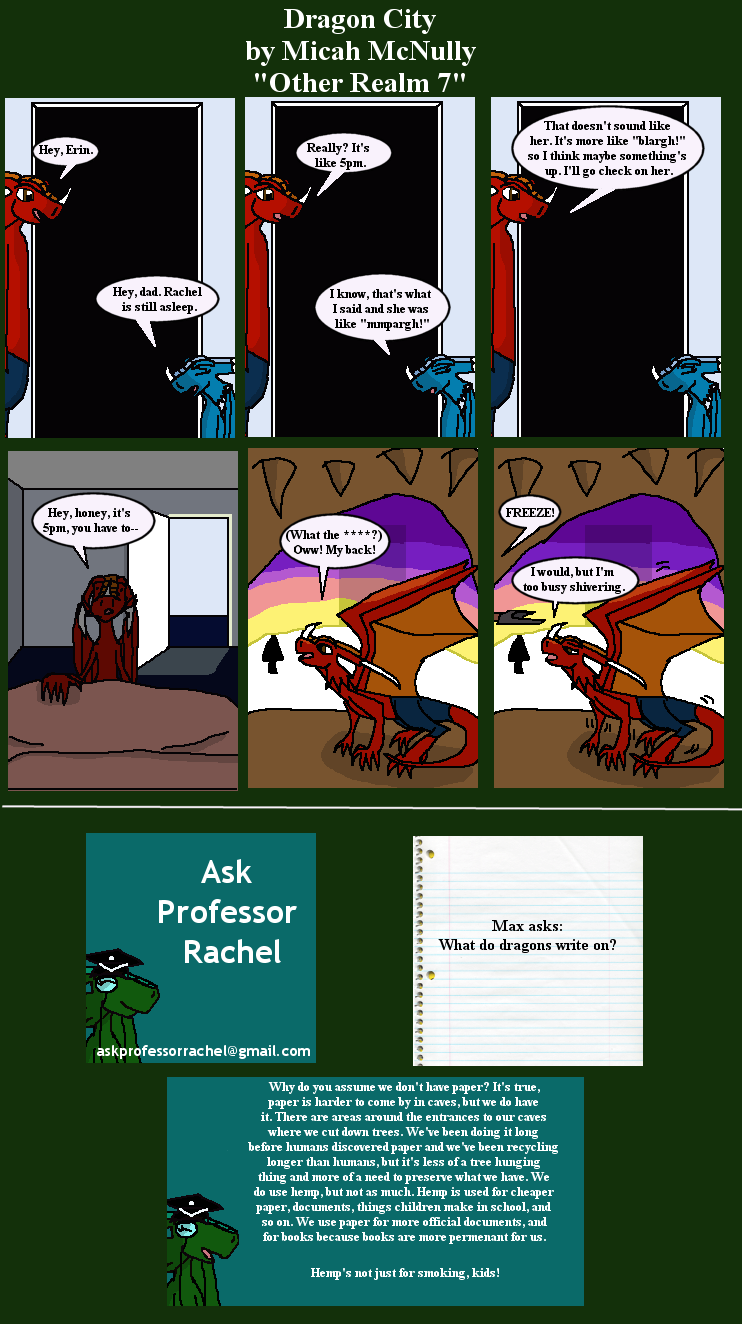 288. Other Realm 7 (With Ask Professor Rachel 33)