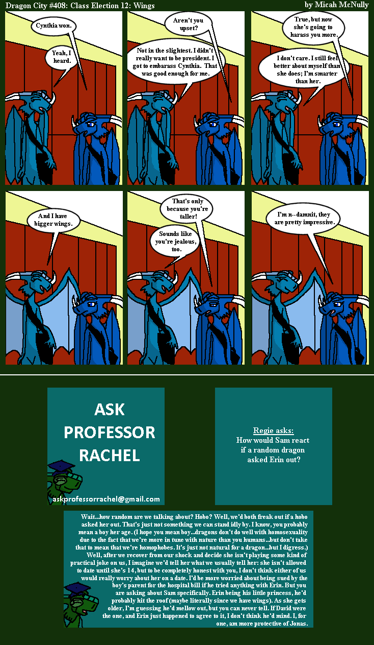 408. Class Election 12: Wings (With Ask Professor Rachel 73)
