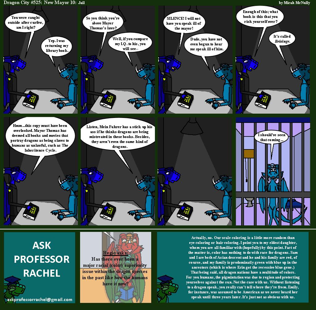525: New Mayor 10: Jail (With Ask Professor Rachel 112)