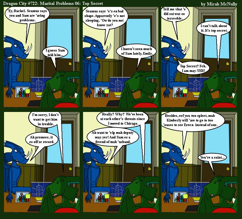 722. Martial Problems 06: Top Secret