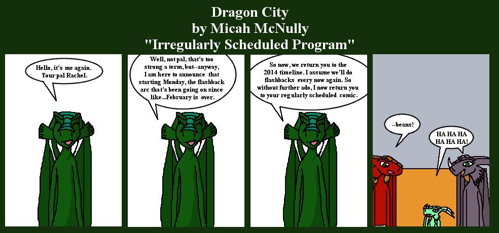 301. Irregularly Scheduled Program