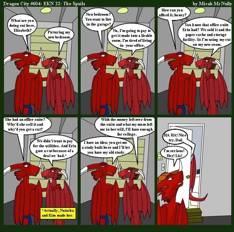 604. EKN 22: The Spoils