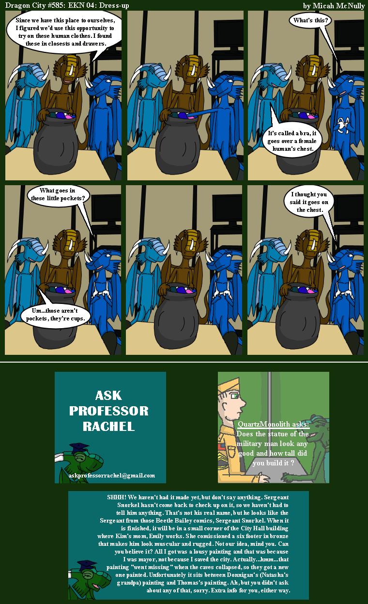 585. EKN 04: Dress-Up (With Ask Professor Rachel 132)