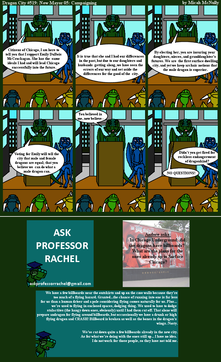 519. New Mayor 05: Campaigning (With Ask Professor Rachel 110)