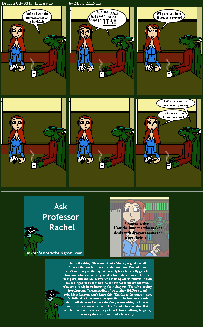 315. The Library 13 (With Ask Professor Rachel 42)
