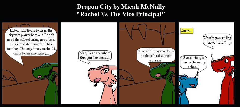 121. Rachel vs. The Vice Principal