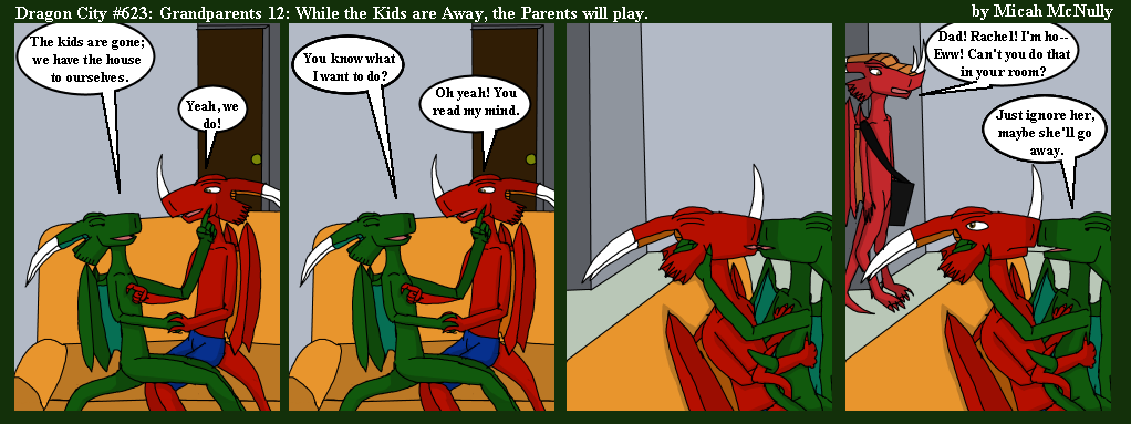 623. Grandparents 12: While the Kids are Away, the Parents will Play