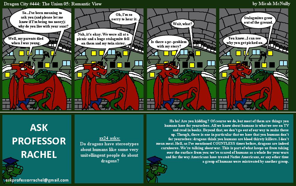 444. The Union 05: Romantic View (With Ask Professor Rachel 85)