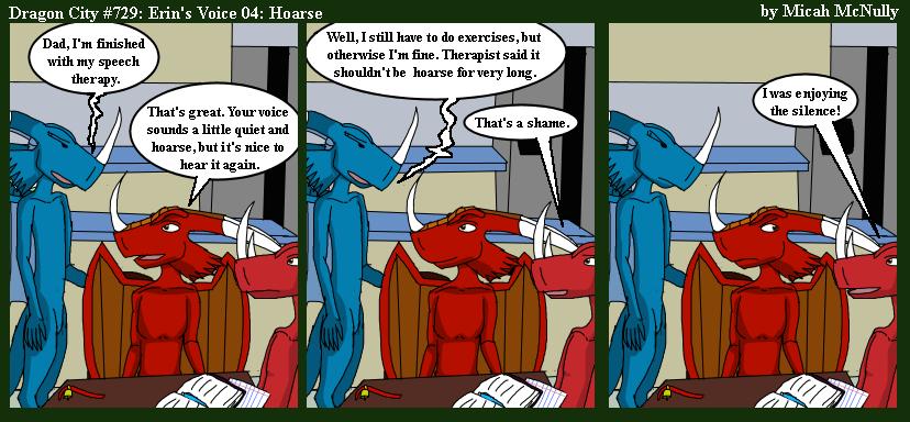 729. Erin's Voice 04: Hoarse