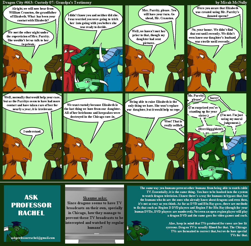 663. Custody 07: Grandpa's Testimony (With Ask Professor Rachel 158)