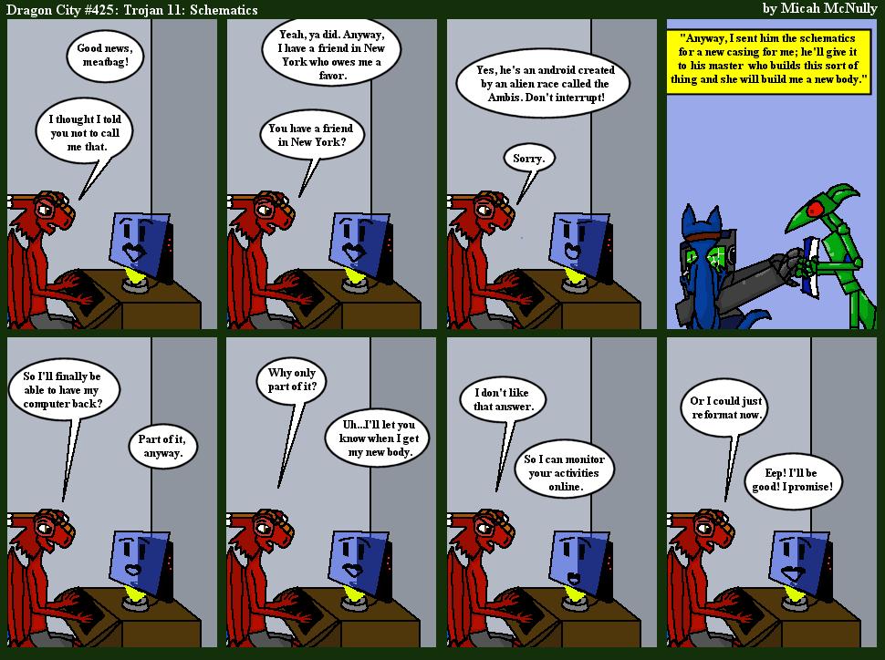 425. Trojan 11: Schematics