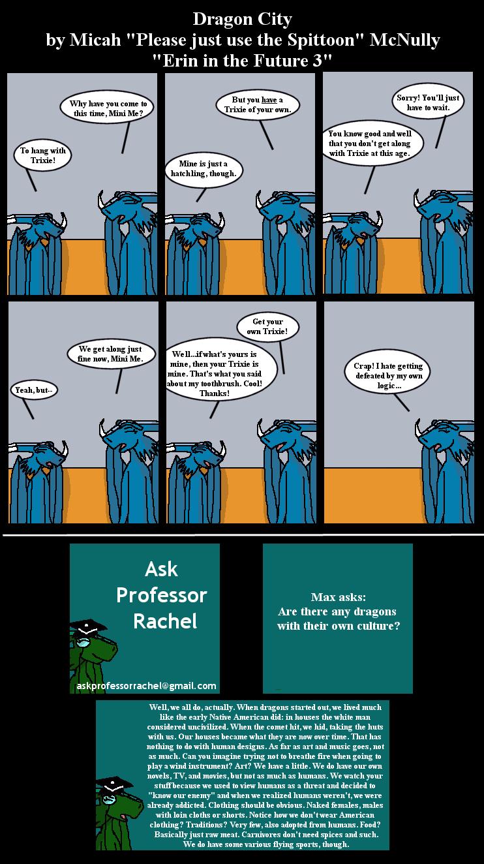 243. Erin in the Future 3 (With Ask Professor Rachel 19)