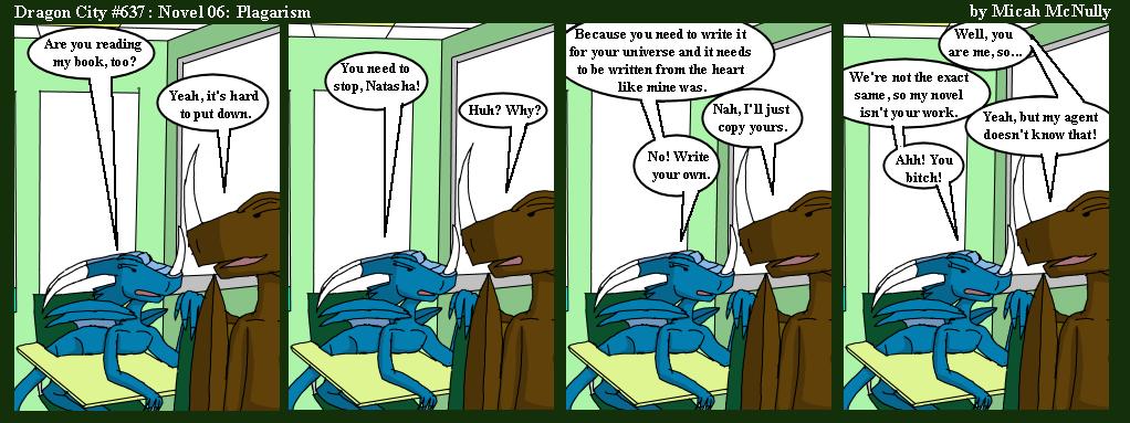 637. Novel 06: Plagirism