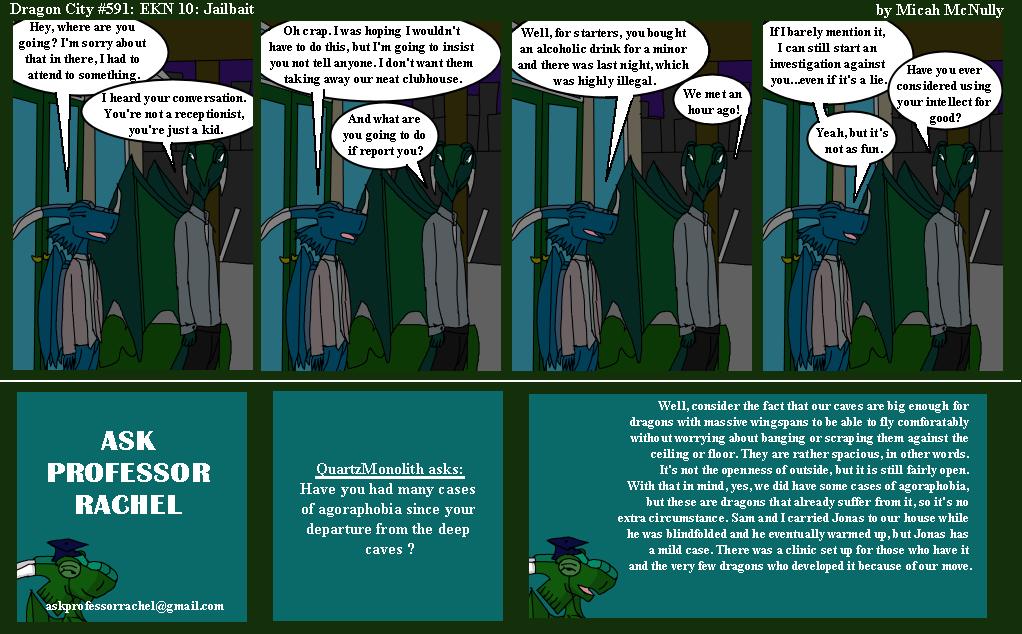 591. EKN 10: Jailbait (With Ask Professor Rachel 134)