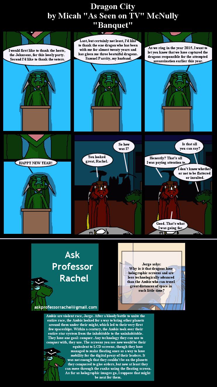 237. Banquet (With Ask Professor Rachel 17)