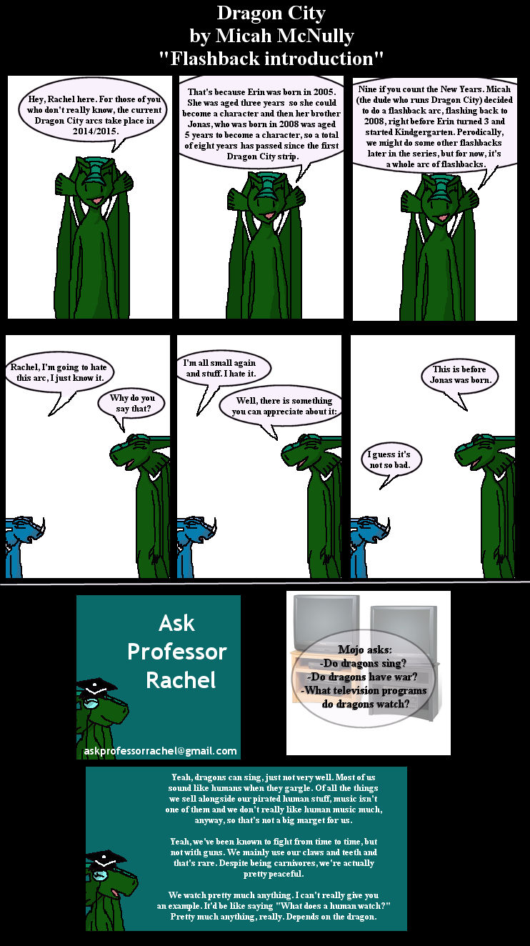258. Flashback Introduction (With Ask Professor Rachel 23)