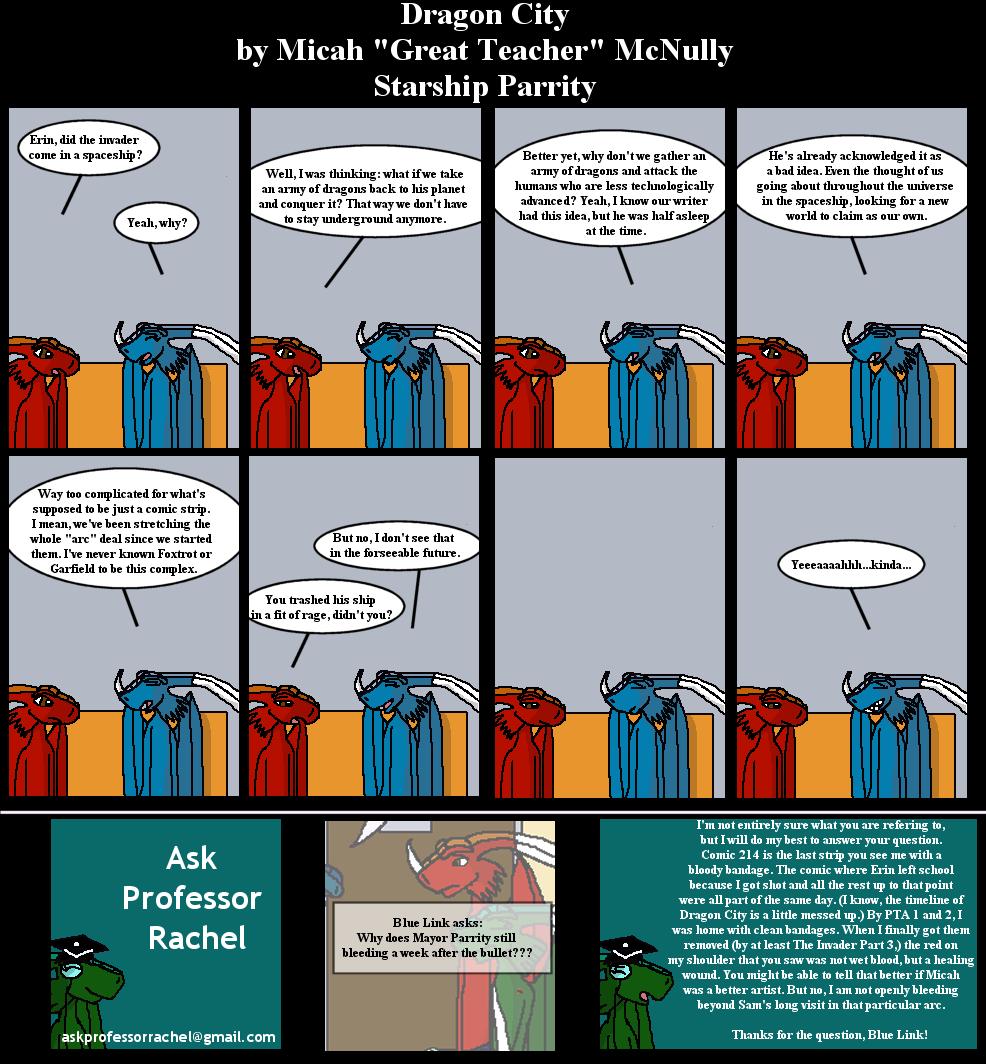 234. Starship Parrity (With Ask Professor Rachel 16)