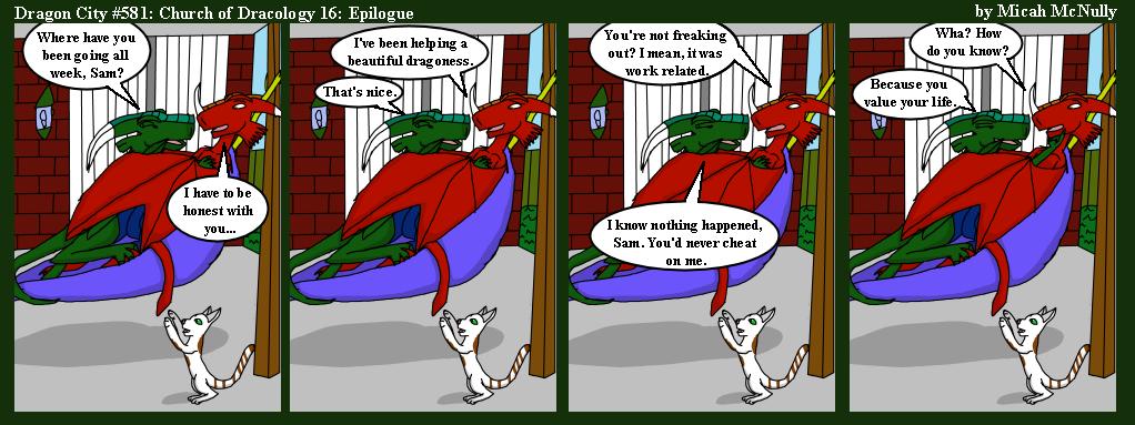 581. Church of Dracology 16: Epilogue