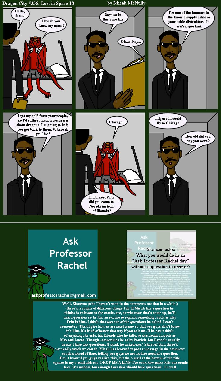 336. Lost in Space 18 (With Ask Professor Rachel 49)