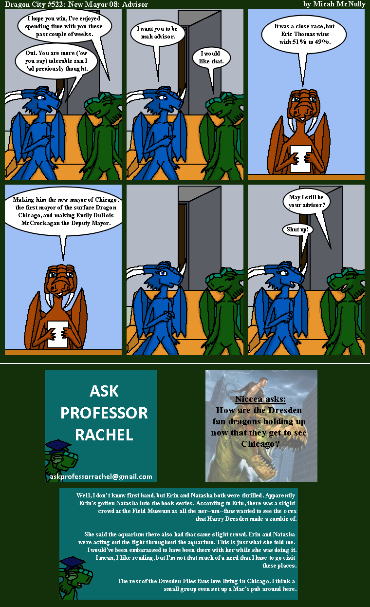 522. New Mayor 08: Advisor (With Ask Professor Rachel 111)
