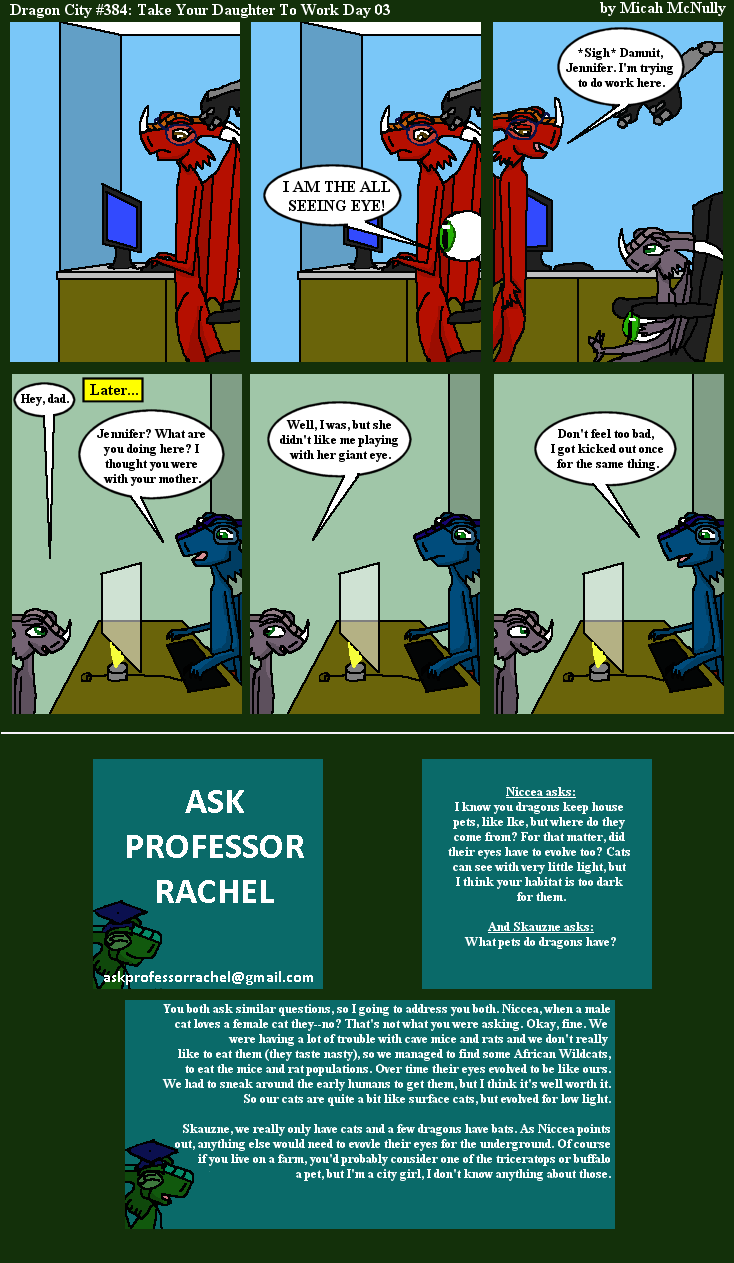 384. Take Your Daughter To Work Day 03 (With Ask Professor Rachel 65)