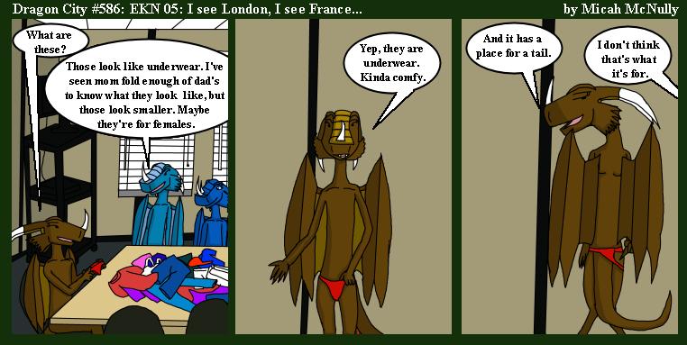 586. EKN 05: I see London, I see France...