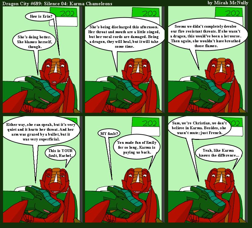 689. Silence 04: Karma Chameleons