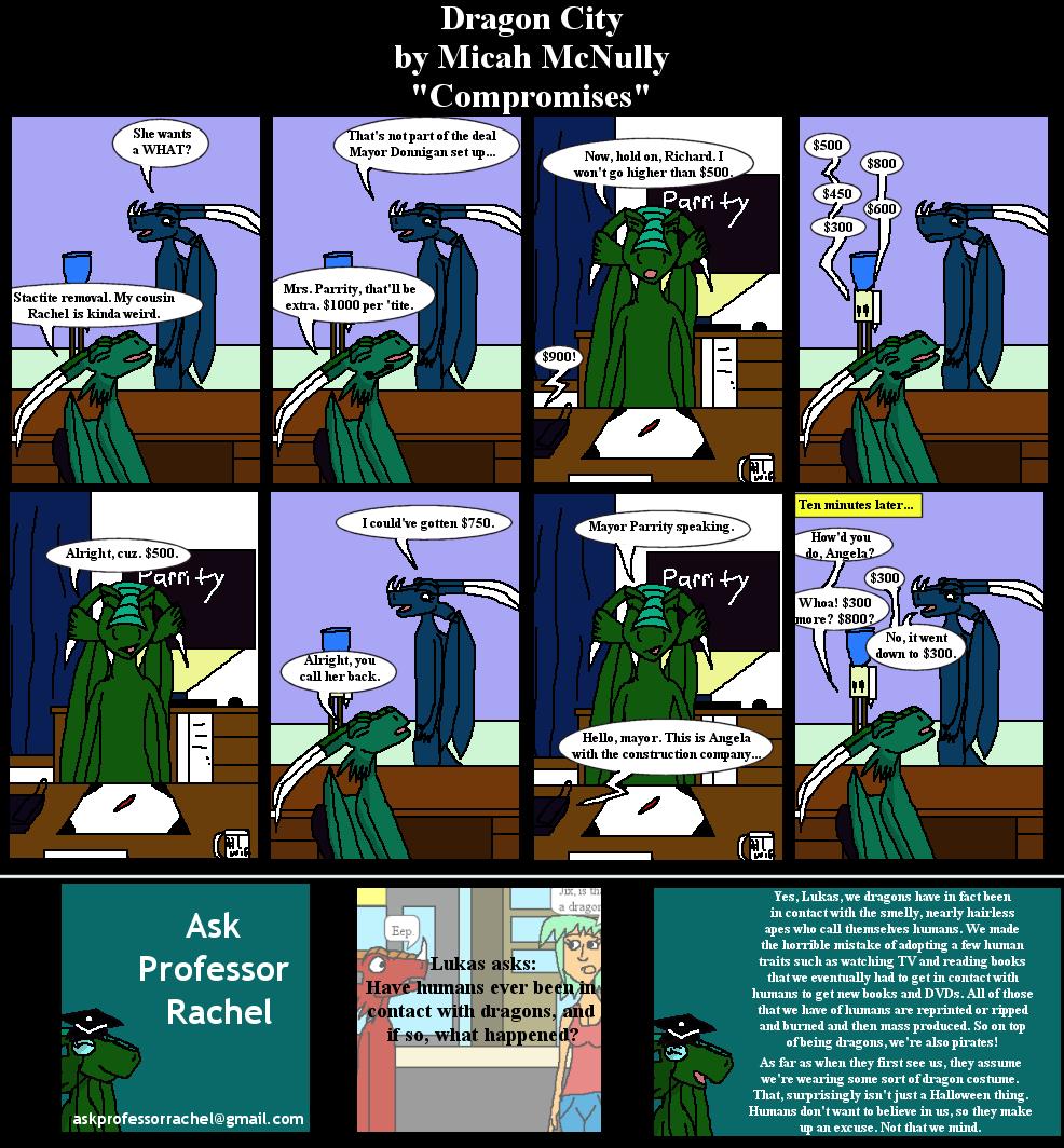 213. Compromises (With Ask Professor Rachel 9)