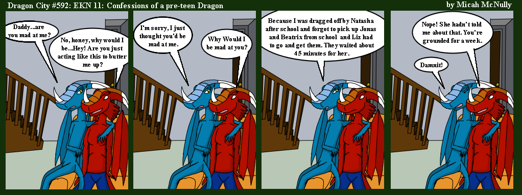 592. EKN 11: Confessions of a pre-teen Dragon