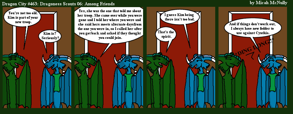463. Dragoness Scouts 06: Among Friends