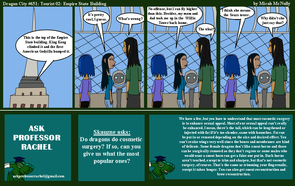651. Tourist 02: Empire State Building (With Ask Professor Rachel 154)