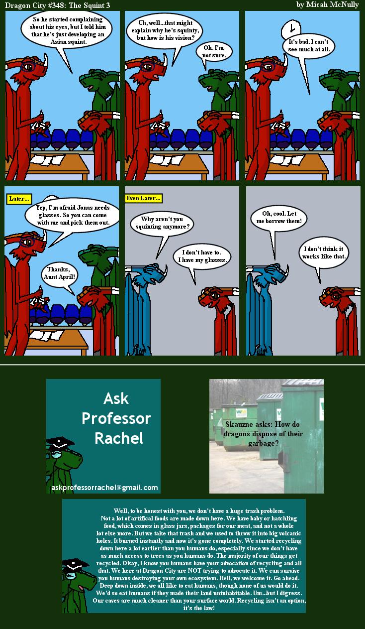 348. The Squint 3 (With Ask Professor Rachel 53)