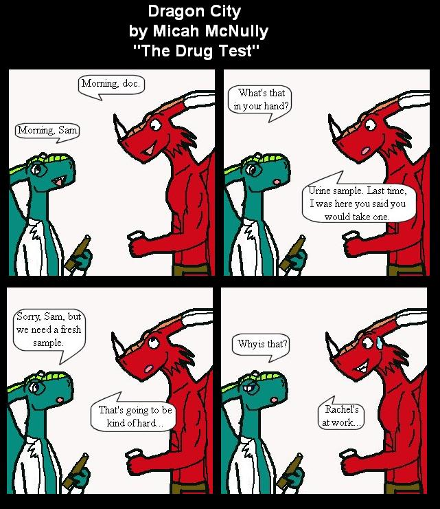 112. The Drug Test