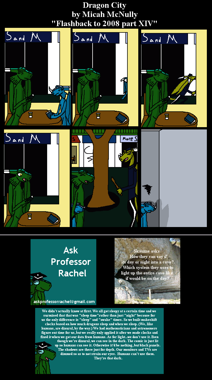 273. Flashback to 2008 part XIV (With Ask Professor Rachel 28)