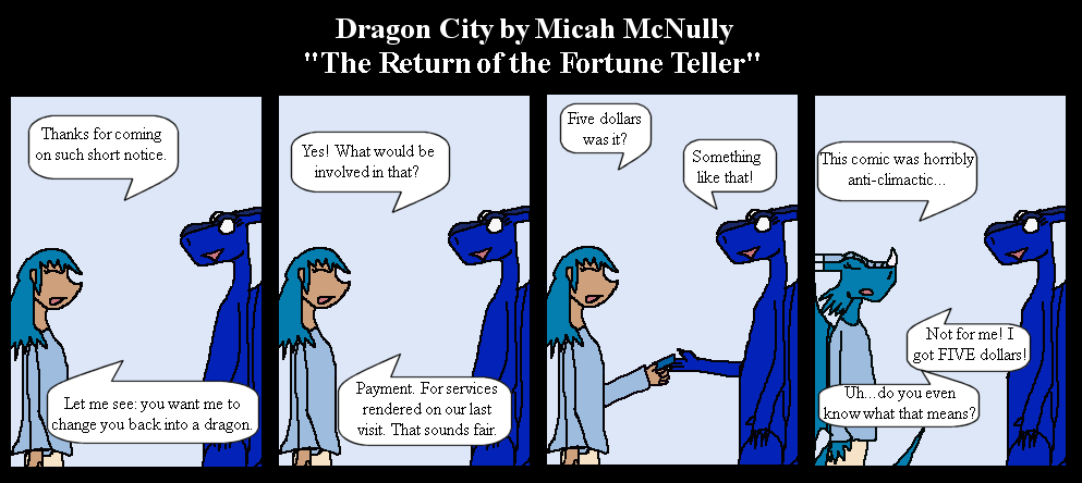 144. The Return of the Fortune Teller