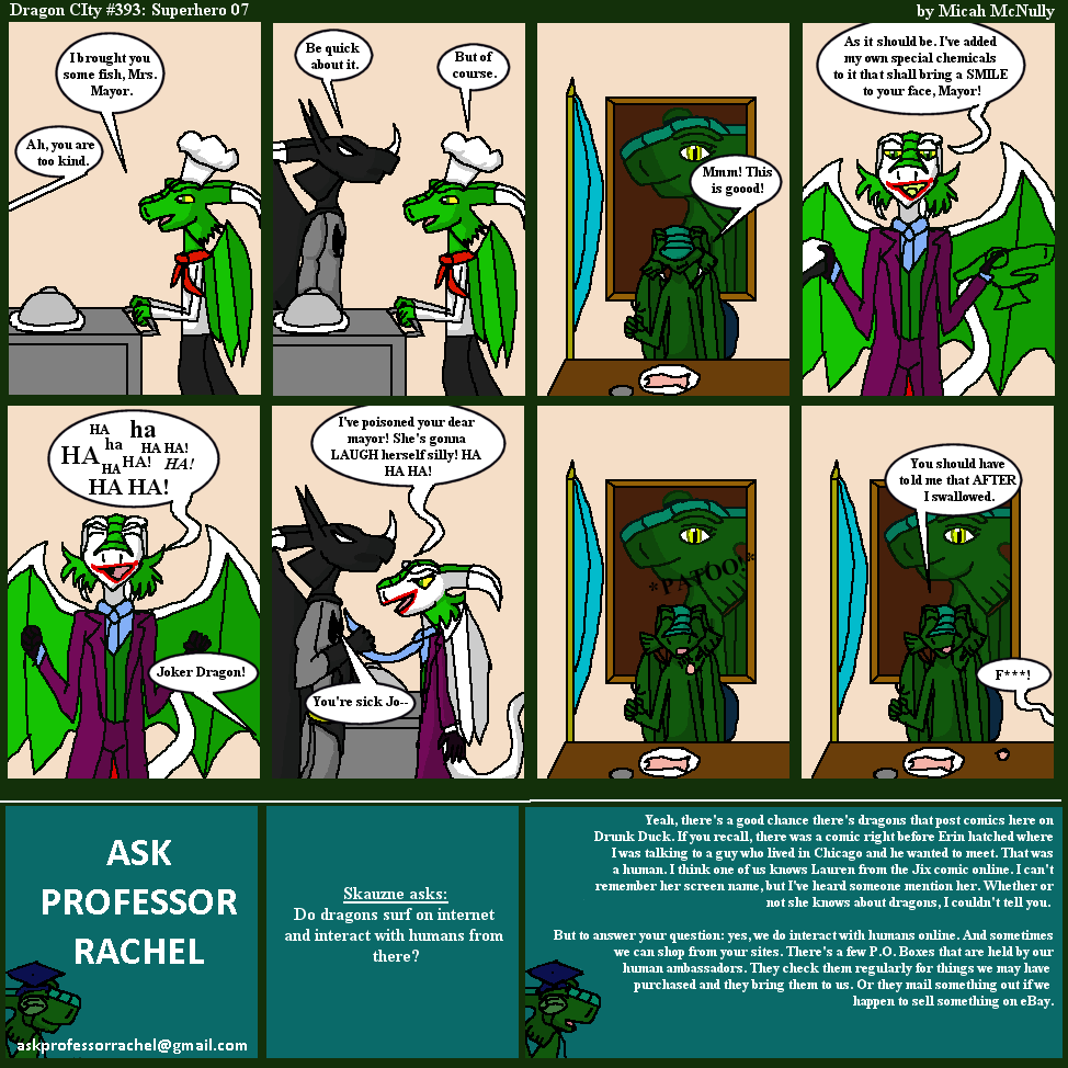 393. Superhero 07 (With Ask Professor Rachel 68)