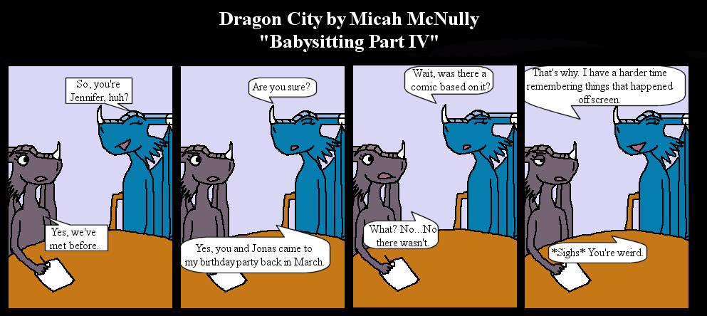 166. Babysitting Part IV