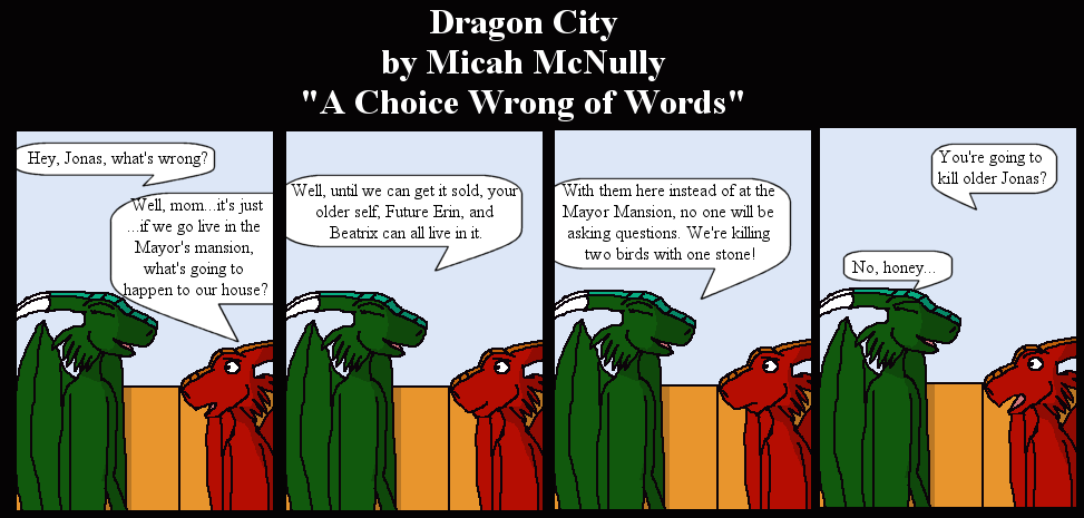 199. A Choice of Wrong Words