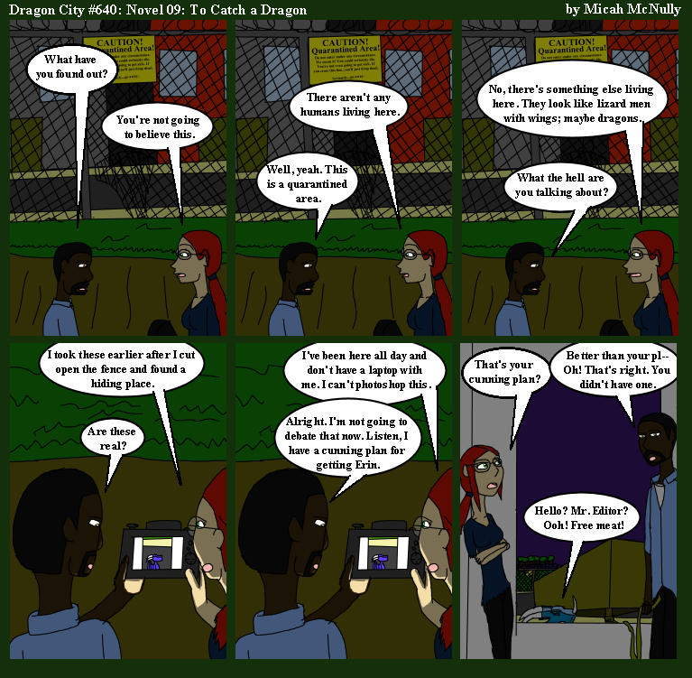 640. Novel 09: To Catch a Dragon