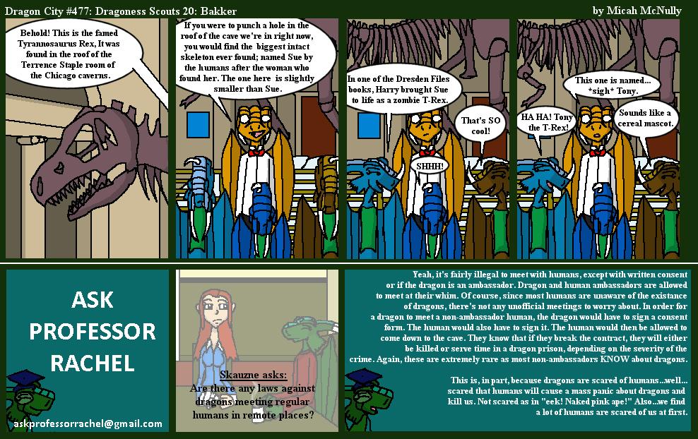 477. Dragoness Scouts 20: Bakker